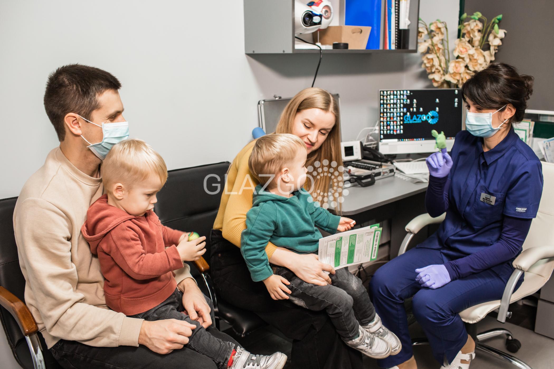 Детский офтальмолог в Белой Церкви - GlazGo