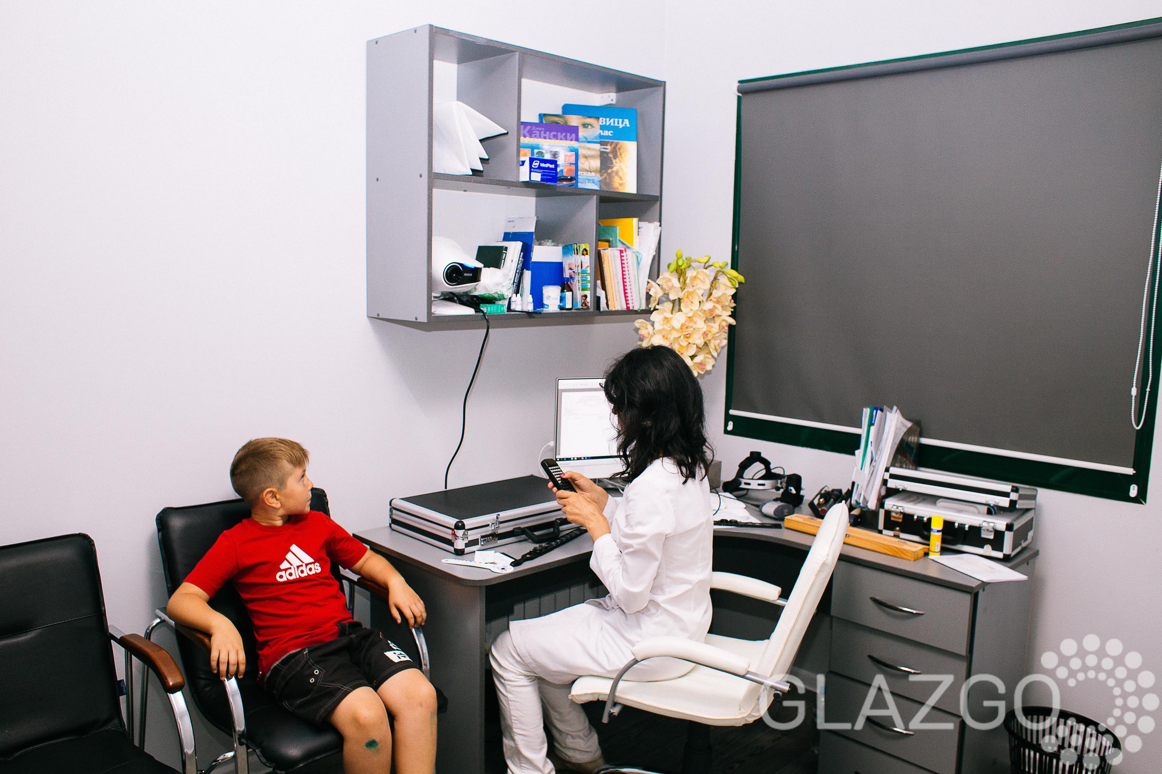 Детская офтальмология в Glazgo